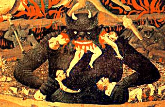 Medieval Art Hell The Last Judgement Hell